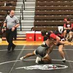 Buffs' wrestlers get late pin to edge Scottsbluff, Neb.