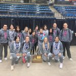 Buffs' girls' wrestlers receive academic team award