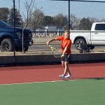 Buffs' boys tennis takes 1st at Great Bend