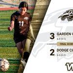 Girls' soccer holds off Dodge City