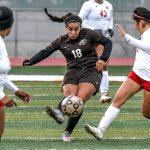 Buffs' girls' soccer falls to Hays in OT