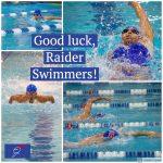 Varsity Swim Season Kicks Off Tomorrow! Good Luck, Raiders!