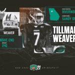 Tillman Weaver Commits to Play Football at Ohio University