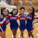 Varsity Basketball Cheer Seniors!