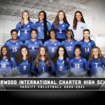 Varsity Volleyball Group Photo Courtesy of Cady (Created with Photoshop)