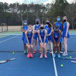 Raider Girls Tennis Beats North Springs 4-1