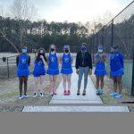 Raider Girls Tennis 2/11/21