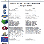 Four Riverwood Basketball Players Recognized in Boy & Girls All-Region Teams