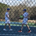 Boys Tennis Takes On North Springs