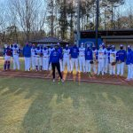 Principal Smith Throwing Out The First Pitch 2/20/21