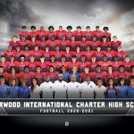 Football Group Photo Courtesy of Cady (Created with Photoshop)
