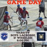 Boys Lacrosse – Game Day!