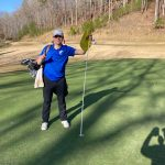 Raider Golfer Jack Doll Makes a Hole in One at Achasta Today!