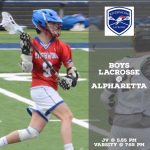 JV & Varsity Boys Lacrosse Heads to Alpharetta Tonight