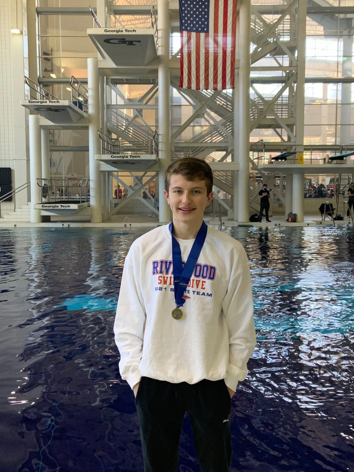 Brandon Rice Named Georgia High School Swim Coaches Association (GHSSCA) Boys Diver of the Year