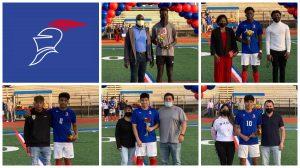 Boys Varsity Soccer Senior Night 4/15