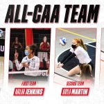 Raider Class of 2019 Alum, Nailah Jenkins, Selected for All-CAA First Team from Northeastern University Women's Volleyball