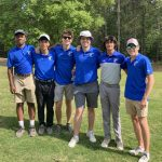 Golf Team Posts Good Score But Falls Short