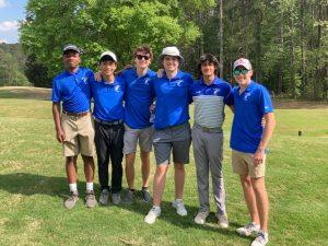 Boys Golf 4/20 – Area Golf Tourney