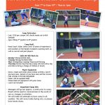 Riverwood Softball Summer Camp for Rising 2nd – 8th Graders – June 7-10, 9 am to 1 pm