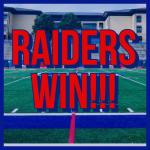 Raider Girls Soccer Wins First Round of Playoffs