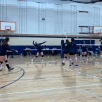Eagles Volleyball Opens Play