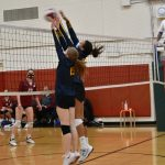 Volleyball League Opener Goes To Eagles