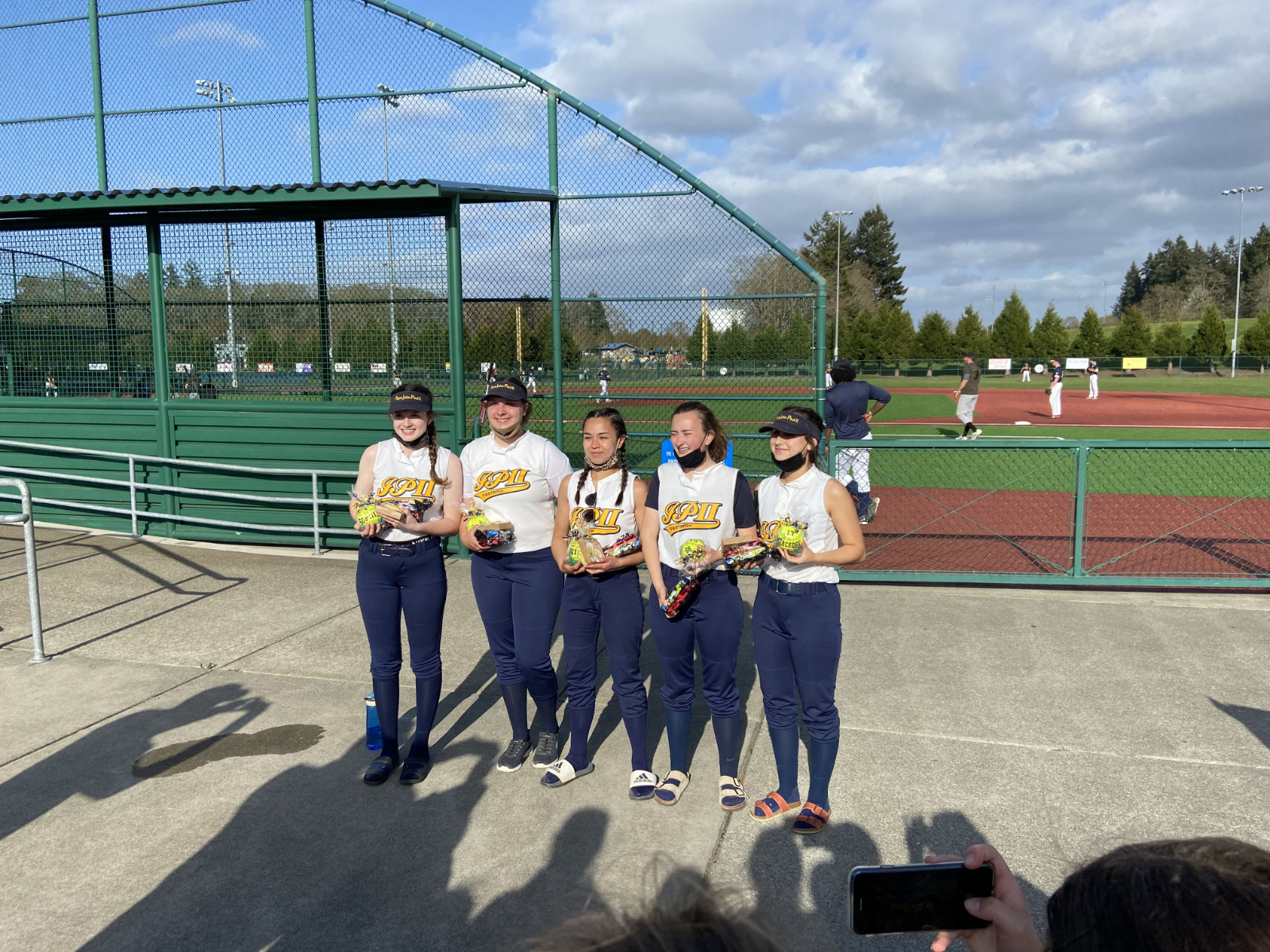 Eagles Fall to Quilcene (Senior Night)