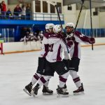 Milford High School Boys Varsity Hockey falls to Swan Valley High School 4-3