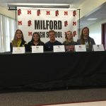 Milford High School Class of 2017 Early Signing College Commits