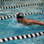Milford High School Boys Varsity Swimming falls to Brighton High School 115-70