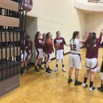 Milford High School Girls Varsity Basketball beat Livonia Franklin 62-22