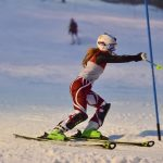 Milford High School Girls Varsity Skiing finishes 4th place