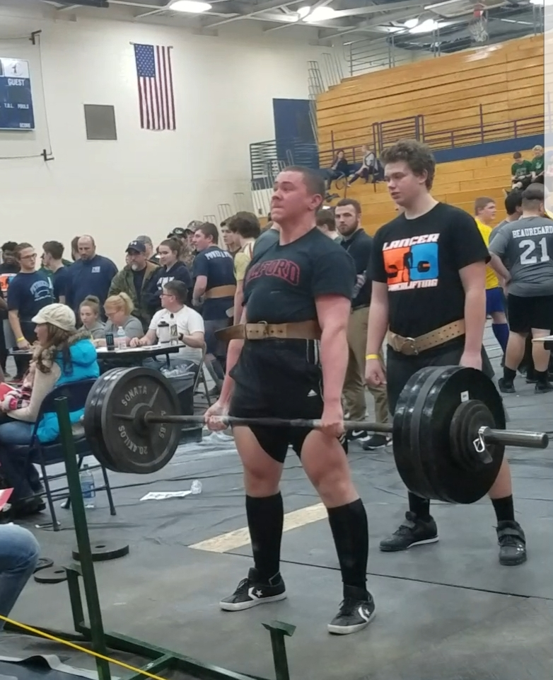 Gabe Edwards takes 1st Place in Powerlifiting Competition