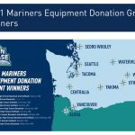 Mariners Equipment Donation Grant Winners, 2021!