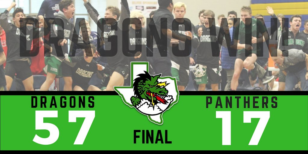 Dragon Wrestling undefeated with dual victory over Panthers