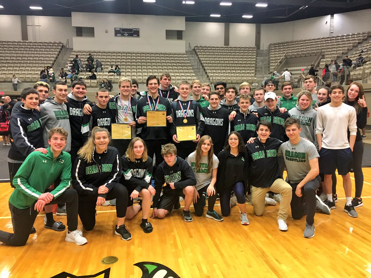 Dragon Wrestling sends FOUR to State