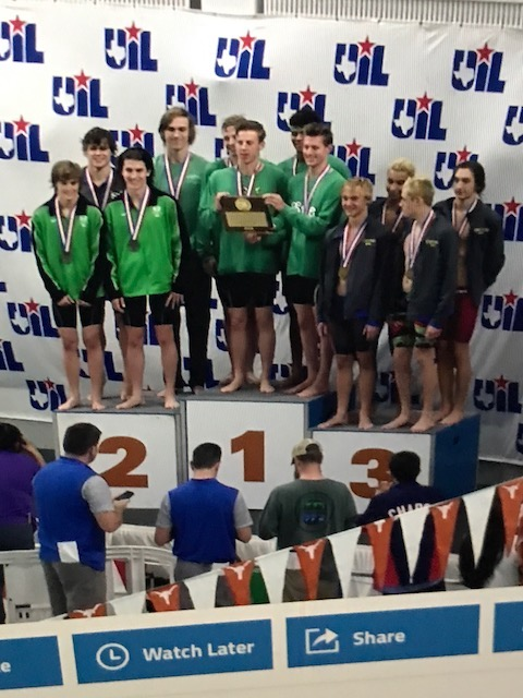 The OCT-PEAT is complete. Carroll SWIM/DIVE take state
