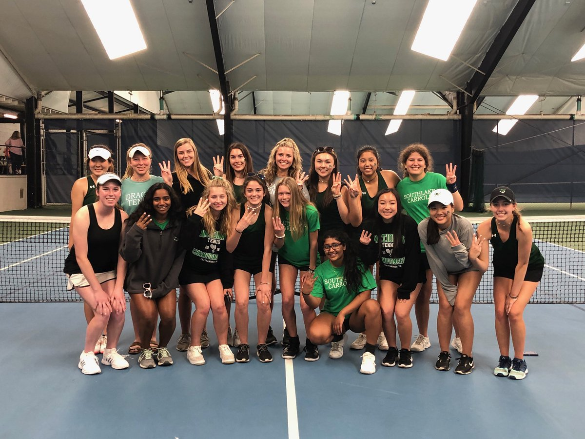 Lady Dragon Tennis takes 3rd in Deco Turf National HS Tournament