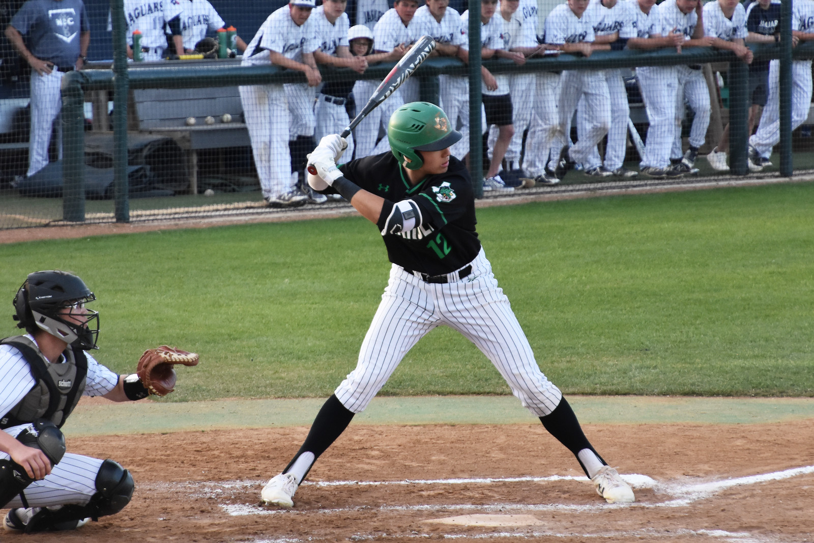 Dragon Baseball sweeps Flower Mound with 9-1 victory