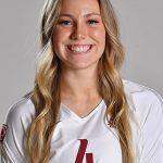 CRHS Alum Logann Golden wears WSU Volleyball Jersey