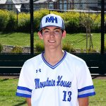 Mountain House High School Varsity Baseball beat Riverbank High School 2-1