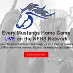 Mustangs Games Streamed Live on NFHSNetwork
