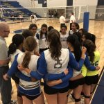 Mountain House High School Girls Varsity Volleyball beat Modesto Christian High School 3-1