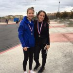 Mountain House High School Girls Varsity Cross Country finishes 9th place
