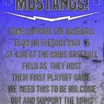 Baseball to Host Playoff Game