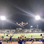 Cheer Team Celebrates Win at Chavez