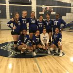 Mustangs Volleyball in 3rd Place