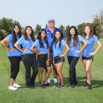 Girls Golf Takes W. A. C. Title