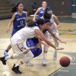 Girls Varsity gets past Orestimba 51-40 at Tom Hawkins Tournament